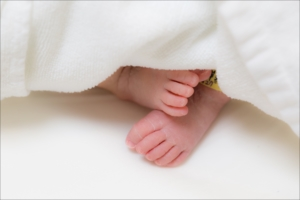 赤ちゃん,足