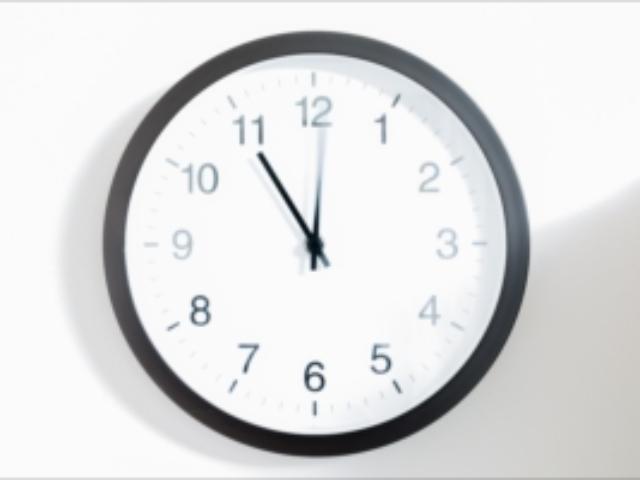 時計,長秒露光