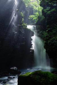 スッカン沢,雄飛の滝