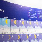 結局買った2019年カレンダーはこれ! カレンダーは星景撮影には重要なアイテム