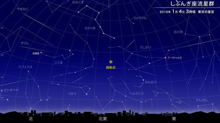 平成最後の座流星群 しぶんぎ座流星群 撮影スケジュールプラン 1時間20個もありえる?