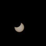 2019年1月6日の午前、部分日食の撮影 その結果と収穫、課題の発見