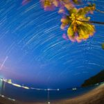 南のビーチで初の海外星景撮影 南十字星、さそり座、木星、天の川をなんとかゲット