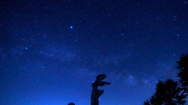2019年10月の美ヶ原高原美術館 星景撮影スケジュールプラン